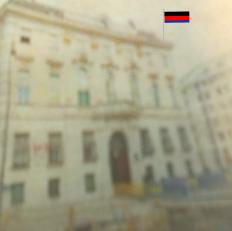 Österreich Flagge nach 15-10-2017 weiterhin schwarz-rot-blau