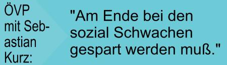 ÖVP mit Sebastian Kurz - Jetzt und immer nie
