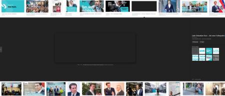 Liste Sebastian Kurz - die neue Volkspartei gelöscht
