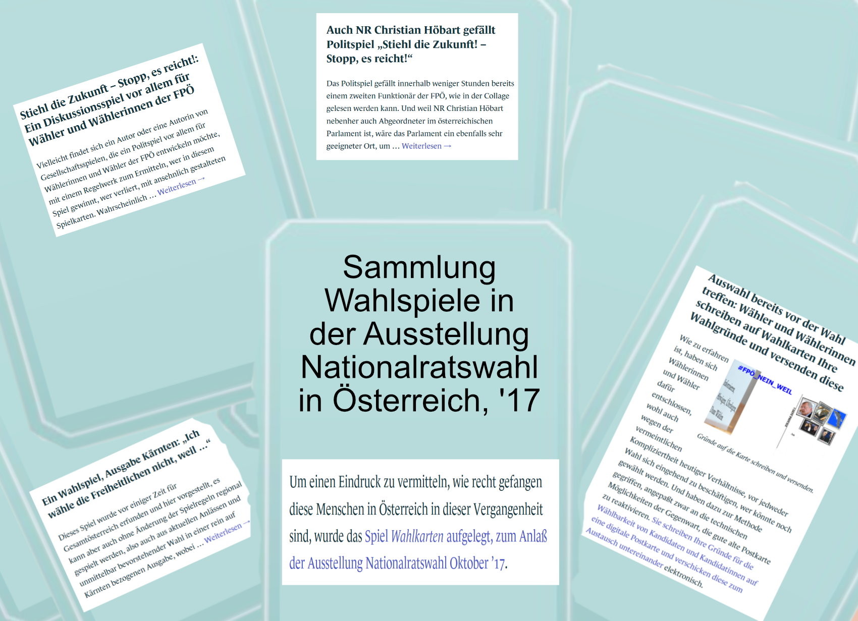 Nationalratswahl 2017 - Wahlspiele