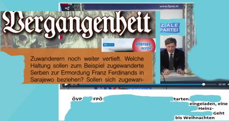ÖVP - FPÖ - Fehlendes Denkmal auf dem Heldenplatz Wien - Gavrilo Princip