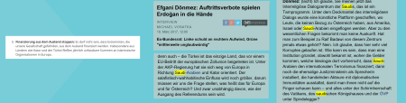 Efgani Dönmez - stop extremism - Saudi-Arabien - Raif Badawi