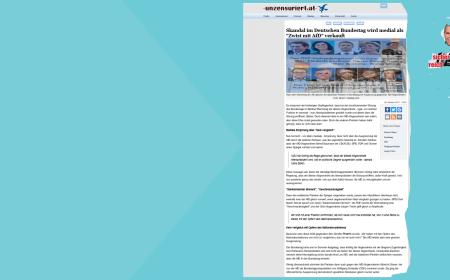 FPÖ - AfD - Ausgrenzungsgeklage
