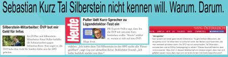 Kurz Sebastian - Tal Silberstein - Warum - Darum