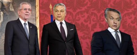 Odin Wieisnger fotografiert die Angelobung Regierung ÖVP FPÖ