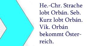 Orban bekommt Österreich