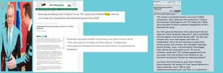 HC Strache - Peter Kienesberger - Norbert Burger - NDP - Südtirol
