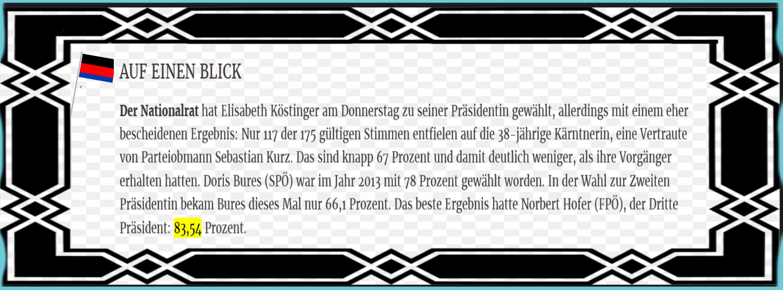 Parlament der Repbulik Österreich - Auf einen Blick