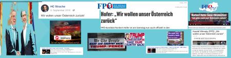 Sprüche - Strache - Hofer - VIlimsky - Farage - FPÖ - NPD - AfD