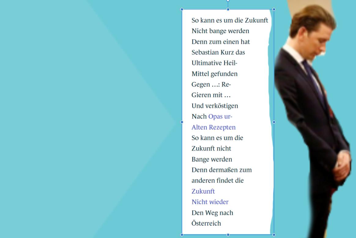 Zukunft geht mit Sebastian Kurz keine Koalition ein
