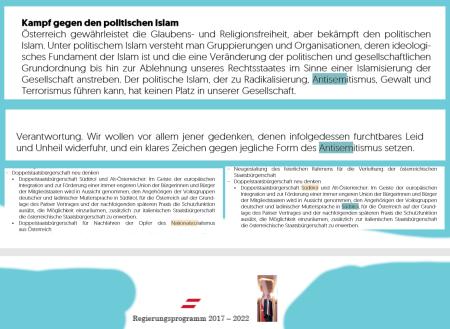 Regierungsprogramm ÖVP und FPÖ - Kein Zeichnen gegen Antiziganismus im Gedenkjahr 2018