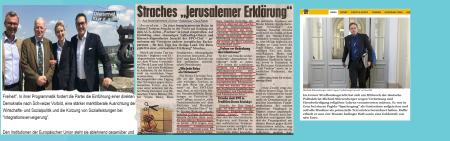 Strache - Jerusalem - Freiheit