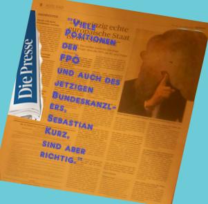 Aleksandr Dugin beurteilt Kurz FPÖ in der österreichischen Qualtitätszeitung Die Presse 26-01-2018