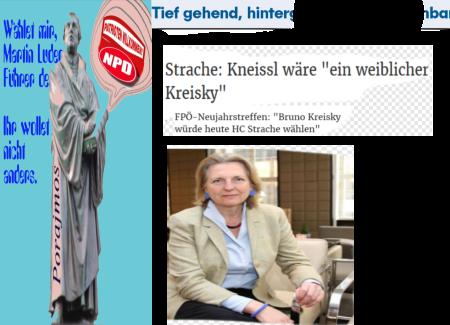 Bruno Kreisky oder wie dem montagsgemachten Vizekanzler Namen aus seiner Gesinnungskameraderie nicht mehr einfallen