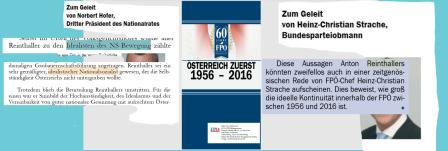 FPÖ Festschrift 2016 - Zu den Idealisten der NS-Bewegung zählte