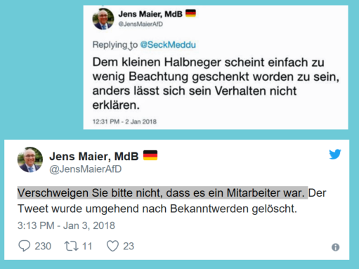 FPÖ und AfD sehen ihre Dienstnehmer als ihre Neger an