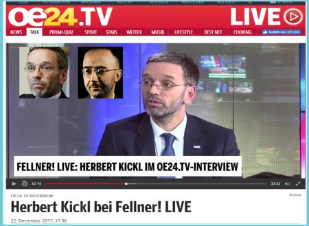 Herbert Kickl - Keine genehme Aufgabe