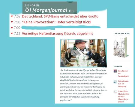 Hofer verteidigt Kickl - Keine Provokation, sondern Philosophie