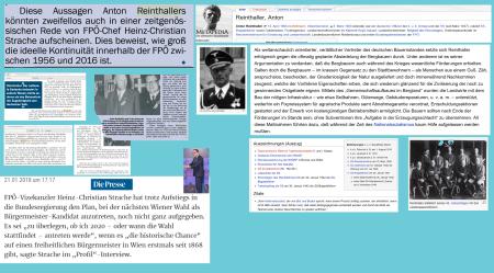 Ideelle Kontinuität der FPÖ seit