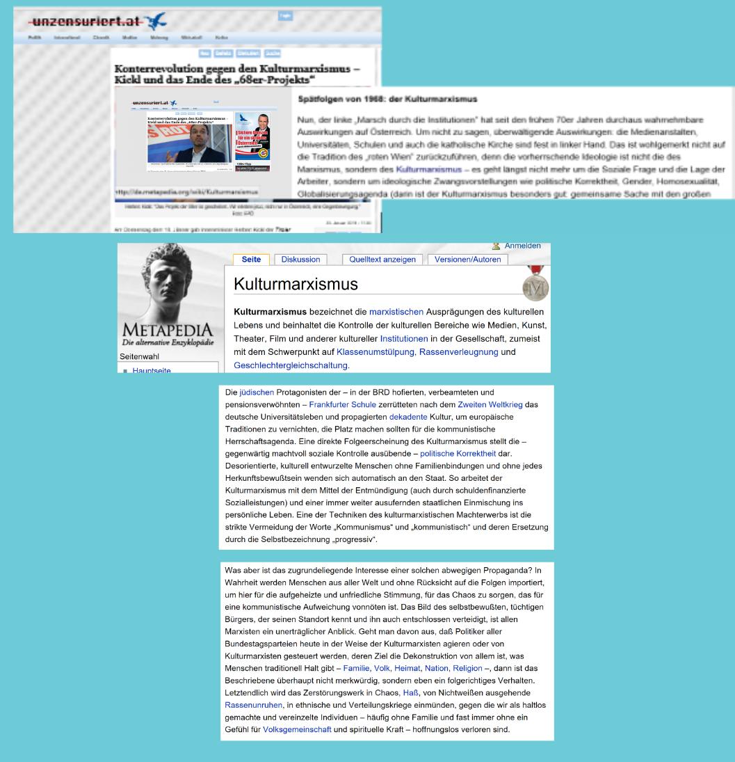 Metapedia - Gesinnungsuntergrund FPÖ unzensuriert