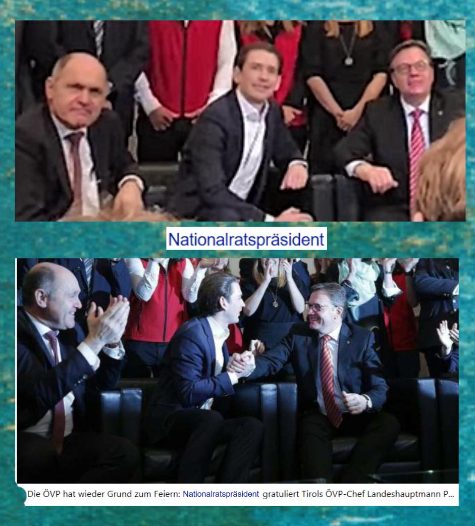 Österreich im Februar - Nationalratspräsident - Ausschaltung des Parlaments