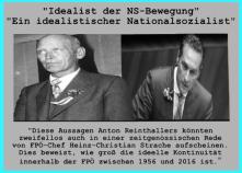 FPÖ - Ideelle Kontinuität - Reinthaller - Strache - Festschrift 2016