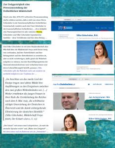 FPÖ stellt recht SIngesfreudige an