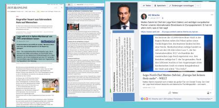 Lega Nord - FPÖ - Lega-Nord-Kandidat schießt und verletzt Menschen