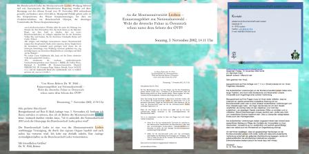 Montanuniversität Leoben - Leder Burschenschaft - 2018 wie 2002