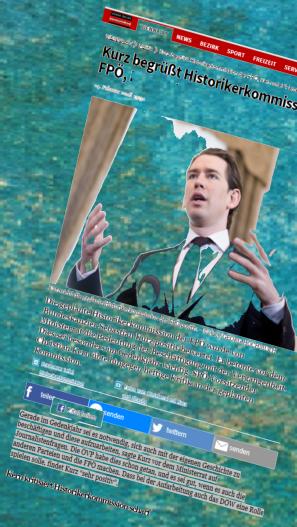 Sebastian Kurz ÖVP FPÖ Historikerkommission