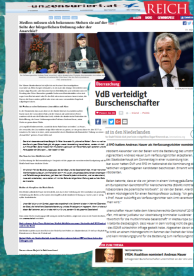 Bundespräsident - Verfassungsgerichtshof - Österreich