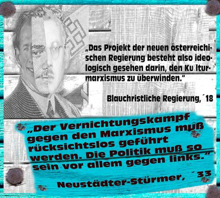 Christliche Regierungen in Österreich - Vernichtungskampf