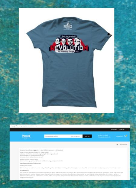 Martin Sellner und Patrick Lenart - Straches Shirtverkäufer