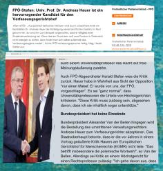 Wiener Hofburg - Hauer - Stefan