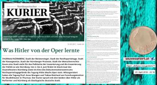 Kurier - Was Hitler von der Oper lernte