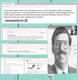 Unzensuriert - Website der identitären Regierungspartei Österreich - April 18