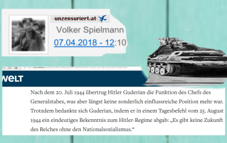 Volker Spielmann - Unzensuriert - Guderian - Nationalsozialismus