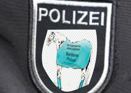 Österreich - Berittene Polizei - Logo - Ein Entwurfsvorschlag