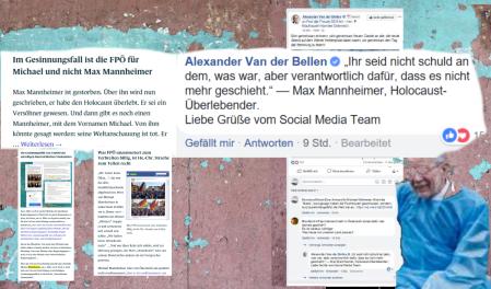 Österreich - Seinen Mannheimer hat der Bundespräsident und der Vizekanzler hat seinen Mannheimer