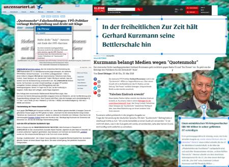 FPÖ Aula zur Zeit Kurzmann