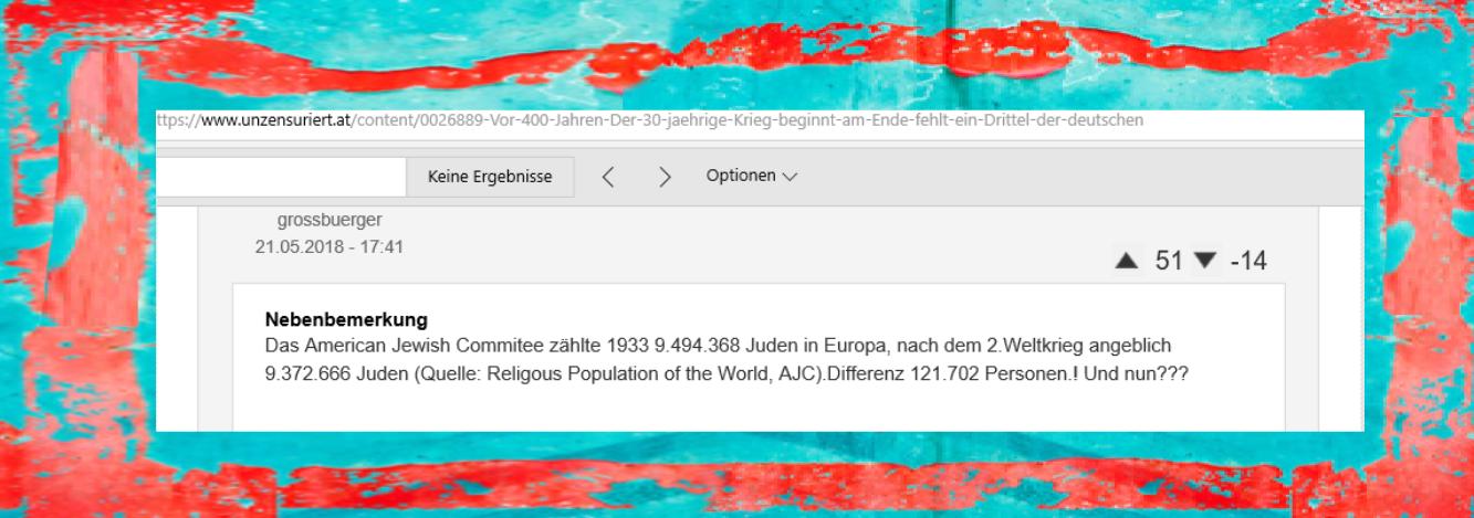 Holocaustfrage - FPÖ unzensuriert - 22-05-2018