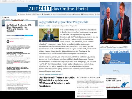 Goebbels - Höcke - Podgorschek - Jagdgesellschaft Zur Zeit