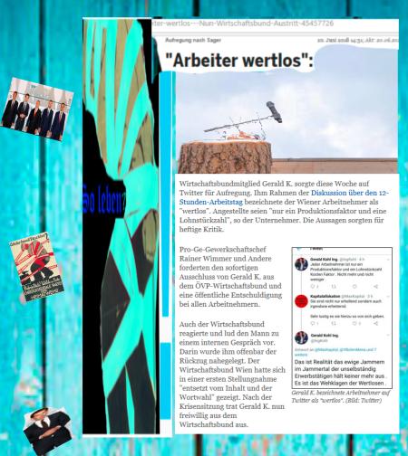 Abwahl der Wertelosen - ÖVP-FPÖ-Regierung Österreich
