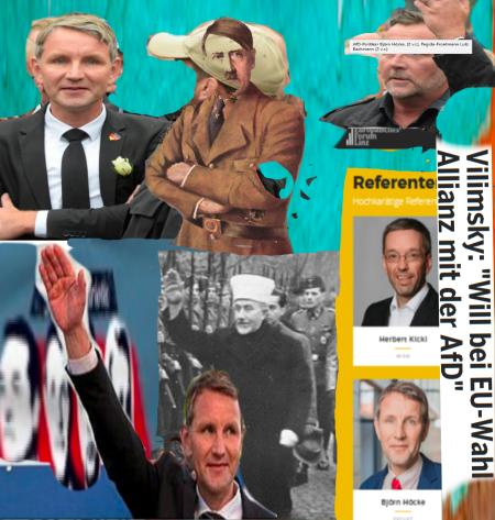 FPÖ - AfD - Achse der Retrolocken