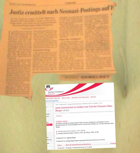Justiz ermittelt gegen FPÖ unzensuriert - Eine Schlagzeile in Österreich nicht einmal als fake news vorhanden