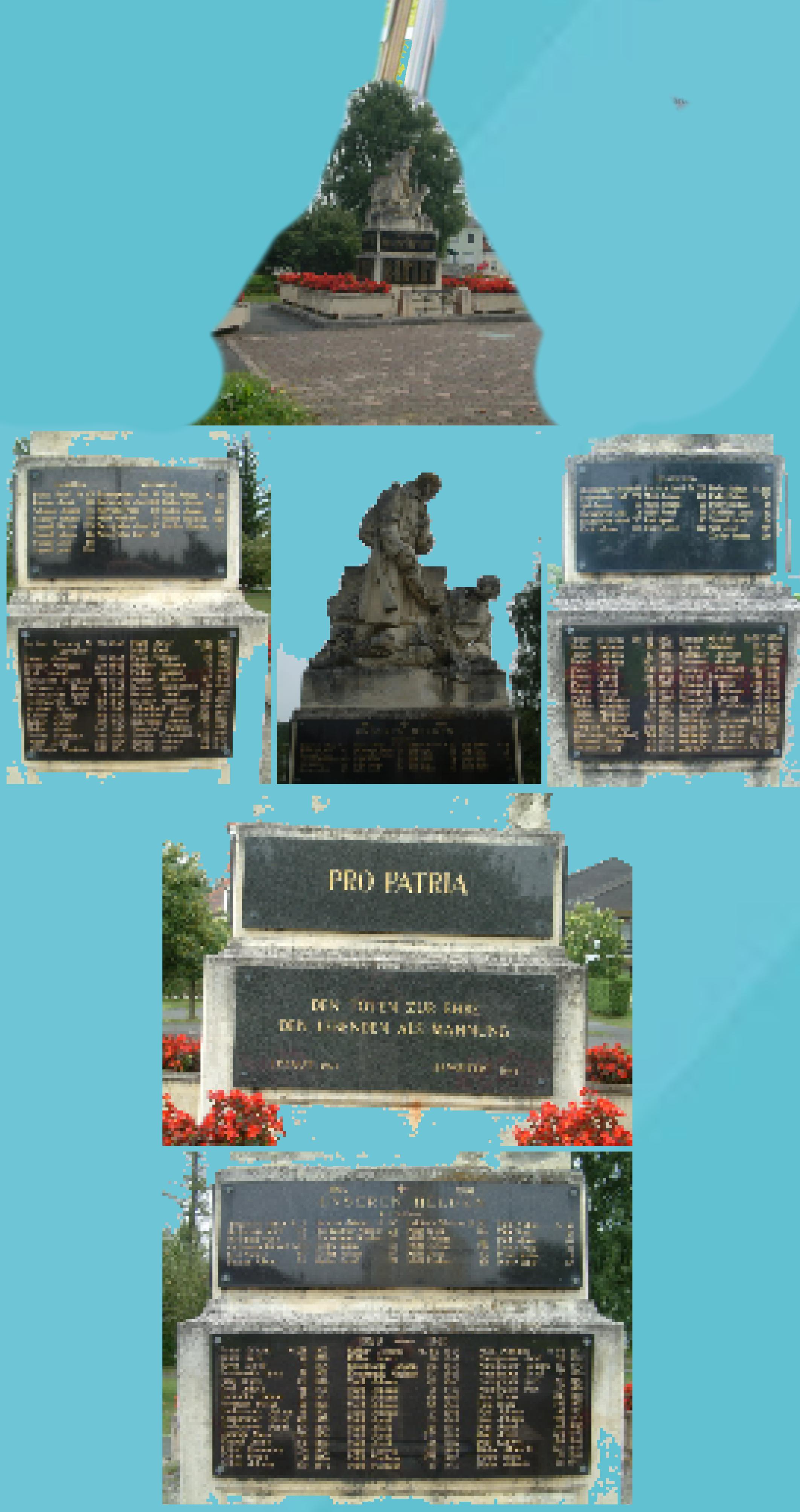 Kemeten Stahl - Denkmal