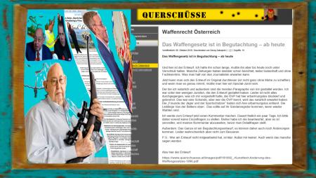 Österreich - Wer für ÖVP-FPÖ-Regierung Paragraphe gestaltet in 18