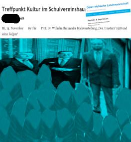 Historikerkommission - Meisterdenker im Gesinnungskreise seiner Schüler