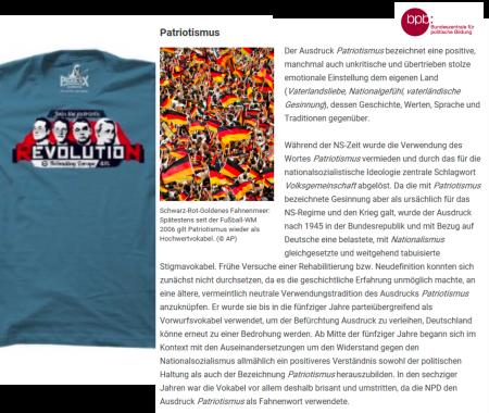 Patriotismus der FPÖ ist gleich Volksgemeinschaft
