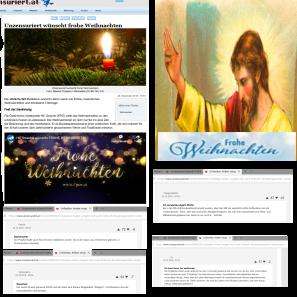 Unzensuriert wünscht frohe Weihnachten
